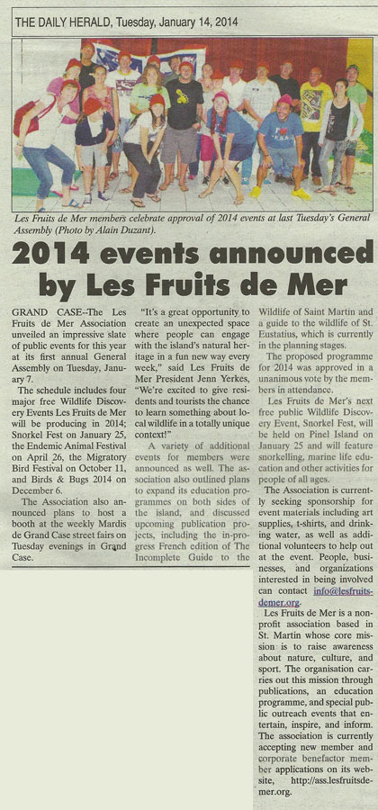 Les-Fruits-de-Mer-AG-Daily-Herald-01142014-web