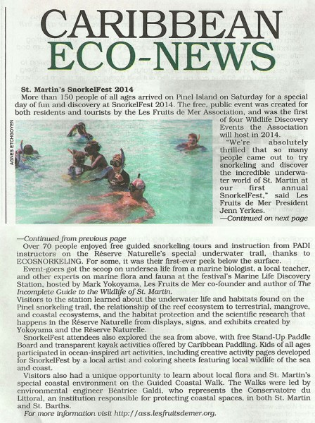 snorkelfest-Caribbean-Compass-March-2014-web