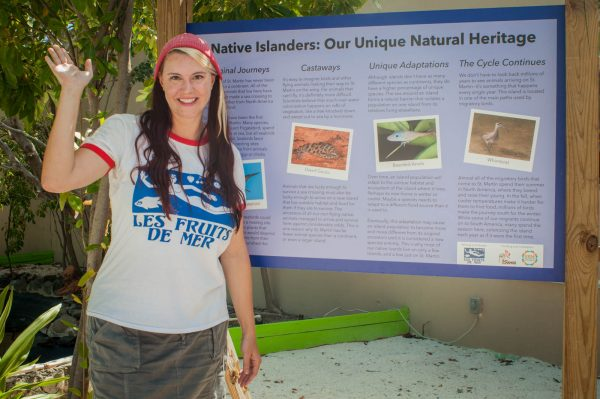 The St. Maarten Zoo now features ten panels about native wildlife designed by Les Fruits de Mer.